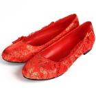 Flat Heel Calabash Knot Shoes