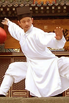 Wudang Taoist Long Robe with Binding Cuffs (CM)