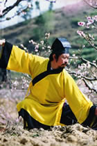 Wudang Taoist Long Robe with Open Cuffs (dual-color) (CM)