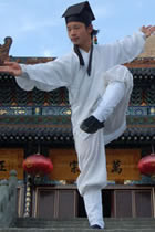 Wudang Taoist Short Robe with Binding Cuffs (CM)