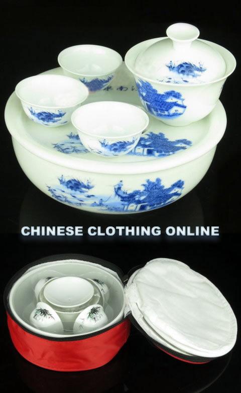 Fine Porcelain Gongfu Tea Set