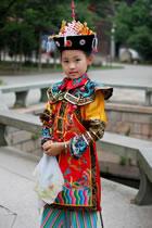 Girl's Qing Dynasty Empress Court Dress (RM)