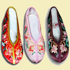 Girl's Lotus Embroidery Shoes (RM)