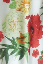 Fabric - Floral Imitation Silk