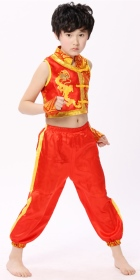 Kid's Dragon Embroidery Kung Fu Uniform (RM)
