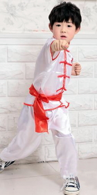 兒童短袖功夫套裝 (成衣)