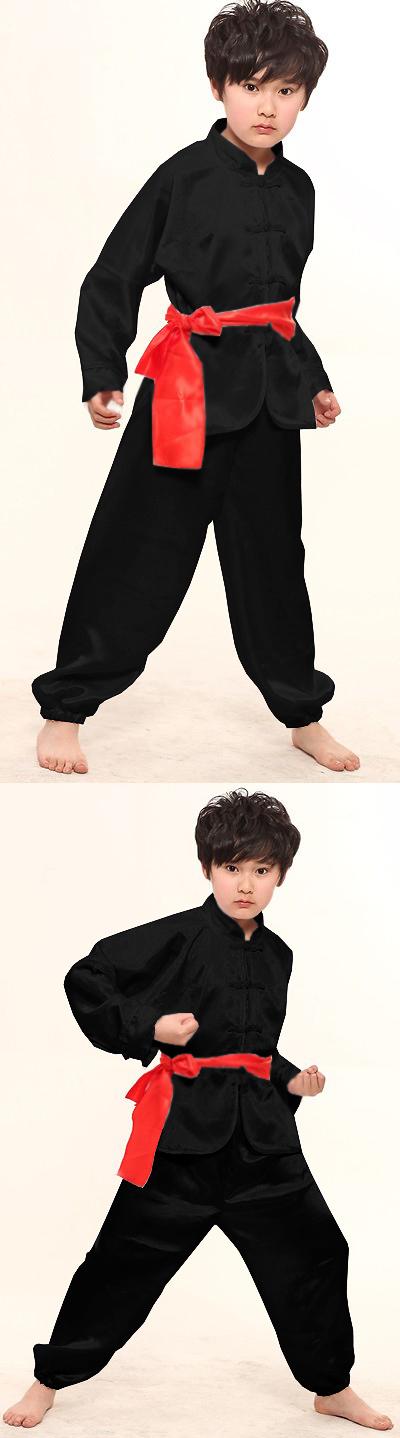 Kid's Kung Fu Uniform with Sash (RM)