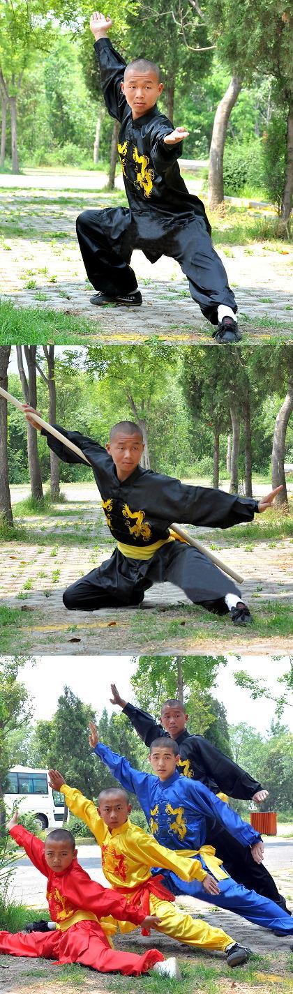 兒童武術練功服連腰帶 (成衣)