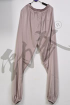 Professional Taichi Kungfu Pants - Ice Silk Linen - Light Brown (RM)