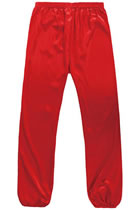 Professional Taichi Kungfu Pants - Korean Silk - Red (RM)