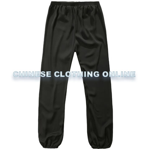 Bargain - Professional Taichi Kungfu Pants - Jiajia Cotton - Black (RM)