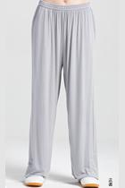 專業太極武術練功褲 - 莫代爾 - 灰色