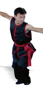 Round Collar Kung Fu Majia/Vest Suit (CM)