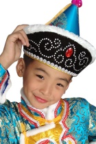 Mongolian Hat for Kids
