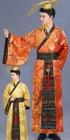 Han Emperor Dress w/ Crown (RM)