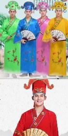 Tang Style Hanfu w/ Hat (RM)