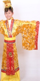 Boy's Han Emperor Dress w/ Crown (RM)