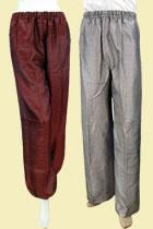 唐裝織錦緞長褲(定做)