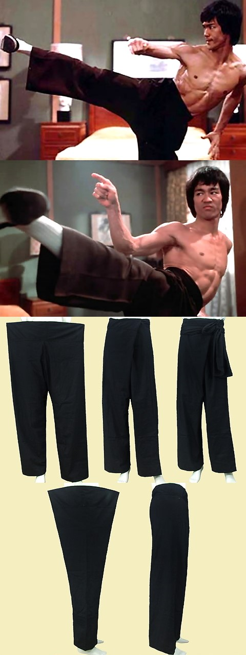 Archaic Style Mandarin Pants w/ Sash (CM)