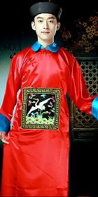 Qing Scholar-bureaucrat Court Dress w/ Crown (RM)