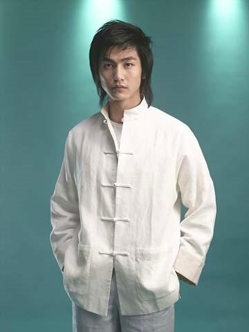 Long-sleeve Mandarin Shirt (CM)