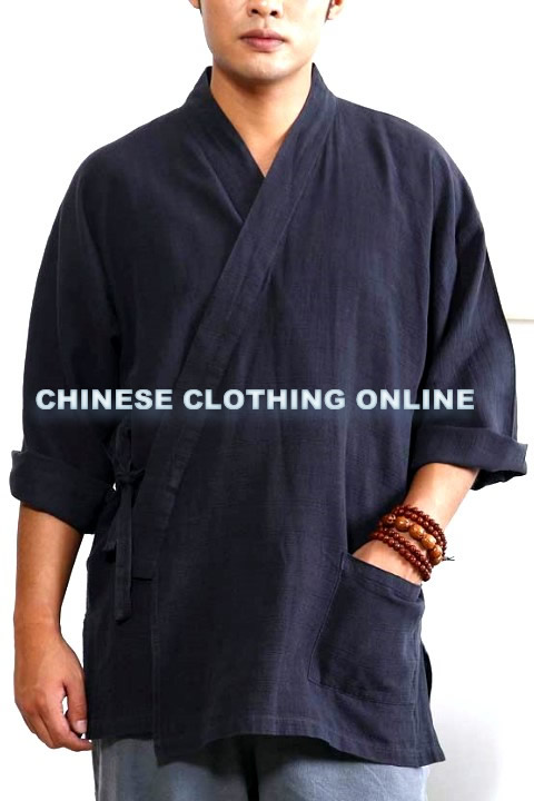 Long-sleeve Cross-collar Mandarin Shirt (CM)