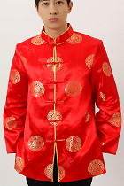 Bargain - Mandarin Longevity Icons Damask Jacket