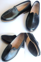 單樑牛皮灑鞋