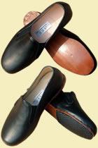 Square Opening Cowhide Shoes (Xiangjin Pixie)