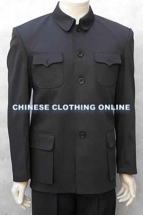 經典版中山裝夾克(成衣)
