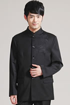 Modernised Mao Suit with Embroidery Dragon (CM)