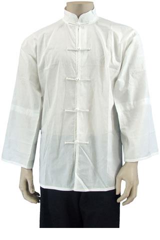 MandarinBargain -  Collar Cotton Long-sleeve Underwear