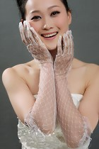 女仕手套 (白色)
