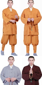 Shaolin Buddhist Top with Pants - Duangua (CM)