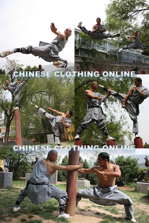 Shaolin Single Arm Short Robe w/ Pants (CM)
