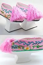戲服鞋靴 - 格格盆底鞋