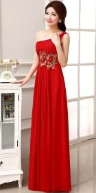 One-shoulder Long-length Prom Dress (RM)