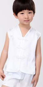Boy's Jacquard Sleeveless Vest Suit (RM)