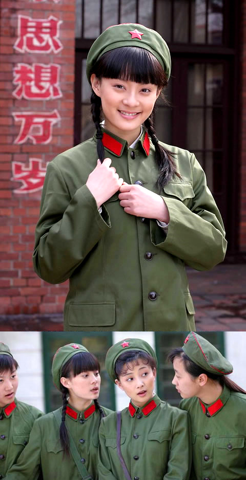 Genuine Women Soldier Cap w/ Red Star (RM)