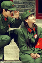 People's Liberation Army Uniform for Red Guards Outfit (Green)