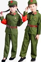 小小解放軍/紅衛兵套裝 (綠色)