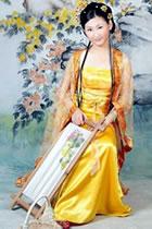 Tang Dynasty Concubine Hanfu (Multicolor)