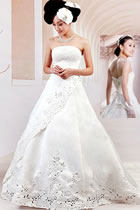 Train-length Wedding Gown (RM)