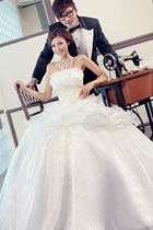 Floor-length Wedding Gown (RM)