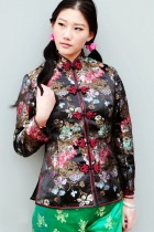 Long-sleeve Mandarin Wadded Jacket (CM)