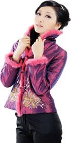 Mandarin Wadded Embroidery Jacket (RM)