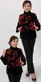 Mandarin Velvet Jacket (RM)