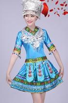中國民族舞蹈服-苗族