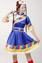 中國民族舞蹈服-藏族