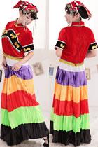 Chinese Ethnic Dancing Costume - Yuanyang Yi Zu
